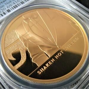 PCGS PR69DC 準最高鑑定 希少 ロイヤルミント 2020年 イギリス 007 ジェームズ・ボンド 2オンス 200ポンド 金貨 コイン 元箱 証明書付 資産