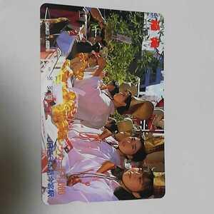 ☆★激レア!!JR西日本 新今宮駅 福娘 (今宮戎神社) 使用済オレンジカード 2穴 使用済み