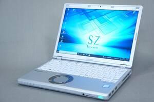 【即配】軽量1Kg未満!第7世代Corei5+SSD256GB+8Gメモリ!Let's note CF-SZ6RDYVS i5-7300U カメラ Office Win10