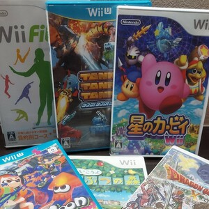Wiiソフト まとめ売り 6本