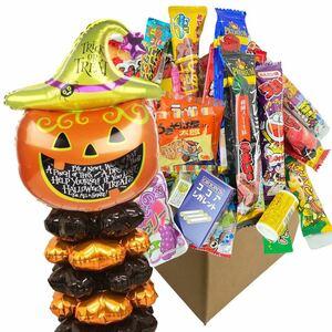 ハロウィンお菓子 30点+ハロウィンバルーン 駄菓子詰め合わせ