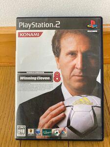 【PS2】 ワールドサッカー ウイニングイレブン8