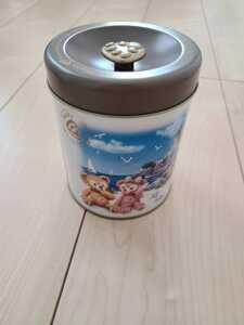 送料無料 ディズニー 空き缶 お菓子缶 ディズニーシー ダッフィー シェリーメイ