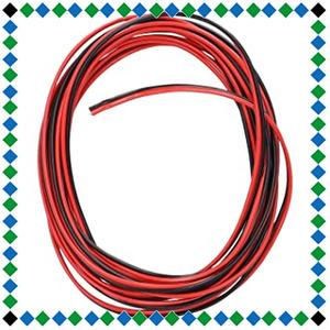 +お買い得限定品 【 限定】エーモン ダブルコード 1.25sq 6m 赤/黒 (1182)