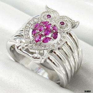Crocs ring earrings / cubic zirconia / Cubic Zirconia Ring