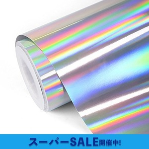 レーザー シルバー TECKWRAP レーザー シルバー 長さ152cm幅30cm カッティング用シート カッティングシール カ