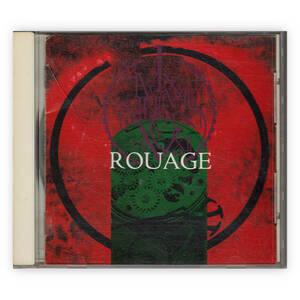 ROUAGE 『ROUAGE』 RLCD-002-3 (インディーズ, ヴィジュアル系, 名古屋系, 3rdプレス, Cry for the moon, ルアージュ,1994年)