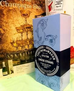 ワインと共に…「スティルトン・チーズ・ストロー」世界三大ブルーチーズの英国代表、スティルトンの甘くないサクサクスナック