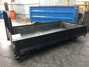 エルフ TKG-NKR85A トラック荷台 高床 三方開 黒色全塗装 2㌧ 2000kg
