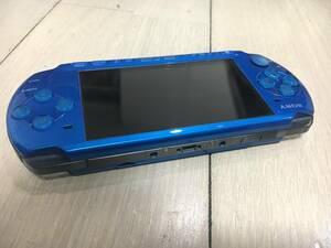 新品バッテリー内蔵!! (ブルー)SONY PSP プレイステーション・ポータブル PSP-3000