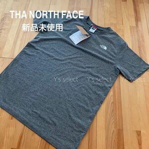 THA NORTH FACE ノースフェイス Tシャツ グレー ジュニアLサイズ
