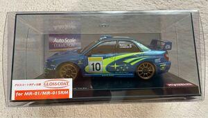 京商 ミニッツオートスケール インプレッサ WRC2002.