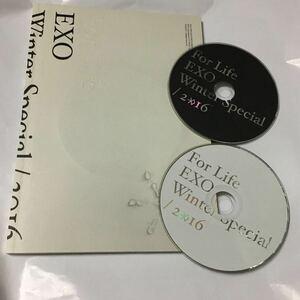 送料込み EXO CD Winter Special 2016 ☆For Life☆ 韓国盤 2枚組 Korean+Chinese
