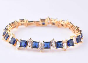 『過去最高品質』◆ 限定入荷 44石 サファイアダイヤモンドブレスレット2ct【18K】注目 新品 贈答品