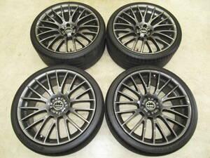 BMW 7 series F01*F02 original option Cross spoke styling 312 8.5J-21+25 10J-21+41 pcd120/5H with tire 4ps.@6787610 6787611