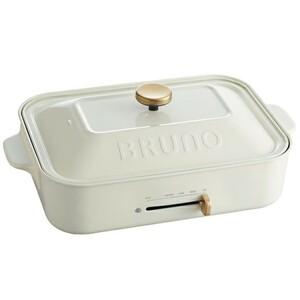 BRUNO コンパクトホットプレート BOE021ーWH