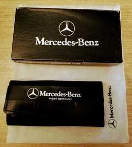 メルセデスベンツ Mercedes-Benz 当時物 希少西ドイツ製 キーホルダー ヤナセ物 本革