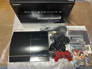 PS3本体60GB CECHA00 初期型【日本製】おまけ付