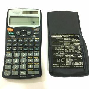 ピタゴラス SHARP EL-520E 電卓 関数電卓