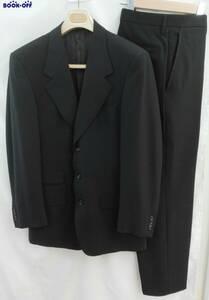 GUCCI セットアップ ブラック 無地 スーツセット サイズ:48 メンズ 洋服