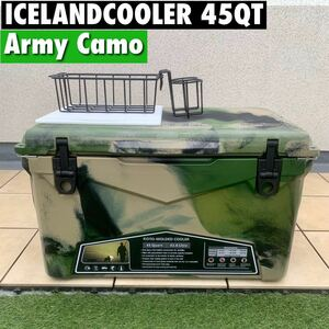 完売間近  アイスランドクーラーボックス 45QT ICELAND cooler 特価