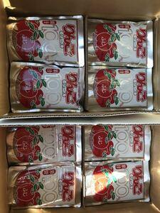 秋田産 りんごジュース 果汁100% りんごジュース 6箱(120袋入り) 送料込み 新鮮パウチパック まとめて超激安価格!!