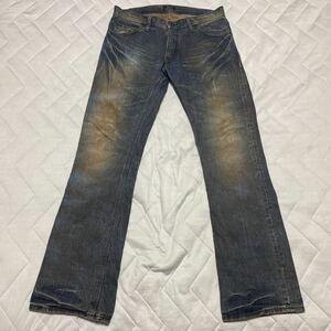 9【着少】LEE リー 94978 MEN'S MELROSE メンズメルローズ デニム ジーンズ ジーパン パンツ L 日本製 MADE IN JAPAN 格安