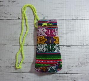 南米 ハンドメイド 巾着 小物入れ A ペルー スマホケース