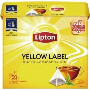 リプトン Yellow LABEL ピラミッド型ティーバック