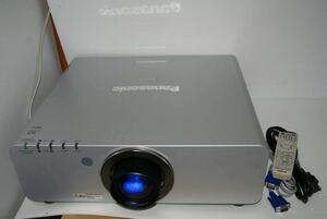 Panasonic PT-DW6300S ★6000ルーメン HDMI対応可能 2画面投射可能 ランプ使用各1614時間 業務用