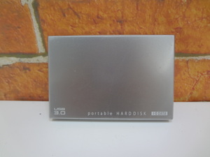 I*O DATA I o- data HDPC-UT500S 500GB USB3.0 portable hard disk * body only operation not yet verification present condition delivery junk treatment