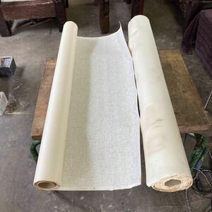 壁クロス 壁紙 ロール 2本 内装 壁材 白