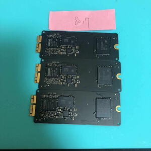 SAMSUNG SSD 32GB(no.8017)*3枚 apple