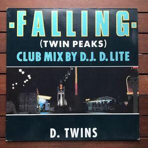 ●【r&b】d.twins / falling[12inch]twin peaks オリジナル盤《9595》