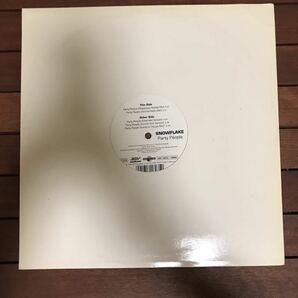 ●【reggae-pop】Snowflake / Party People[12inch]オリジナル盤《4-1-55 9595》