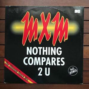 ●【r&b】MXM / Nothing Compares 2 U[12inch]cover _ groundbeat オリジナル盤《2-1-24 9595》