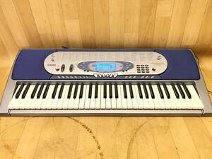 長野発!動作品!CASIO カシオ 光ナビゲーションキーボード LK-65 電子ピアノ 自動演奏あり 現状品
