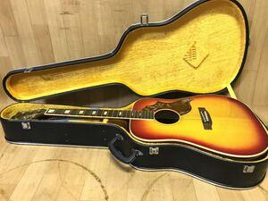 長野発!美品程度!SUZUKI ThreeS スリーエス FH-250 アコギ アコースティックギター 鈴木バイオリン ケース付き 現状品