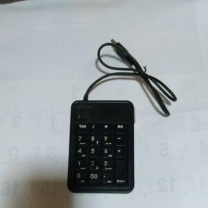 テンキーボード エレコム USB ELECOM サンワサプライ BUFFALO Bluetooth