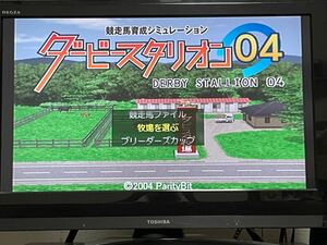 ps2ソフト ダービースタリオン04 PS2