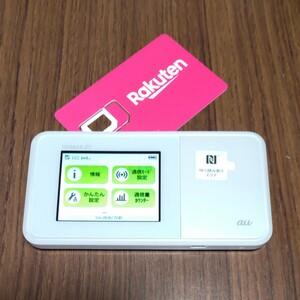 楽天設定済 WiMAX2+ SPEED Wi-Fi NEXT W03 au HWD34 通信モード切替可 220
