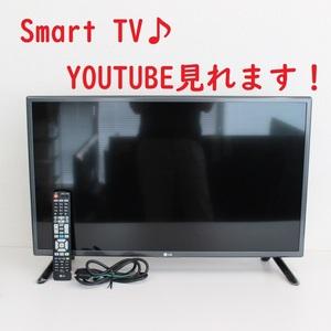T797)【美品】LGエレクトロニクス 32V型デジタルハイビジョン液晶テレビ 32LF5800 2015年製 IPSパネル スマートTV YouTube