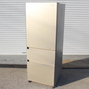T789) パナソニック 3ドア 315L 2017年製 幅59 真ん中野菜室 NR-C32FGM Panasonic ノンフロン冷凍冷蔵庫 冷蔵庫 家電 キッチン