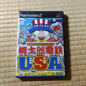 PS2ソフト 桃太郎電鉄USA
