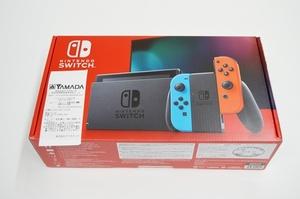 未使用 任天堂 Nintendo Switch 本体 ニンテンドースイッチ ネオンブルー ネオンレッド HAD-S-KABAA 税込 送料無料