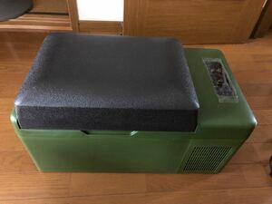 アイリスプラザ 車載冷蔵庫 車載冷凍庫 20L カーキー色  ポータブル冷蔵庫 ポータブル冷凍庫