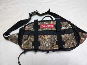 19AW SUPREME WAIST BAG REAL TREE ウエストバッグ リアルツリー BOX