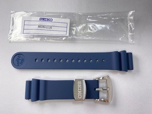 R028012J0 SEIKO プロスペックス 20mm 純正シリコンバンド ネイビー SBDC065/6R15-04G0用 ネコポス送料無料