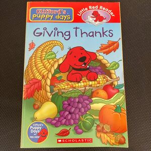 Clifford's puppy days Giving Thanks 洋書