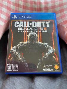 コールオブデューティブラックオプス PS4 CALL OF DUTY BLACK OPS III PS4ソフト
